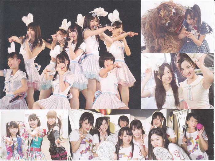 AKB48写真集《チーム8 ライブコレクション ~ブックレット》高清全本[60P] 日系套图-第2张