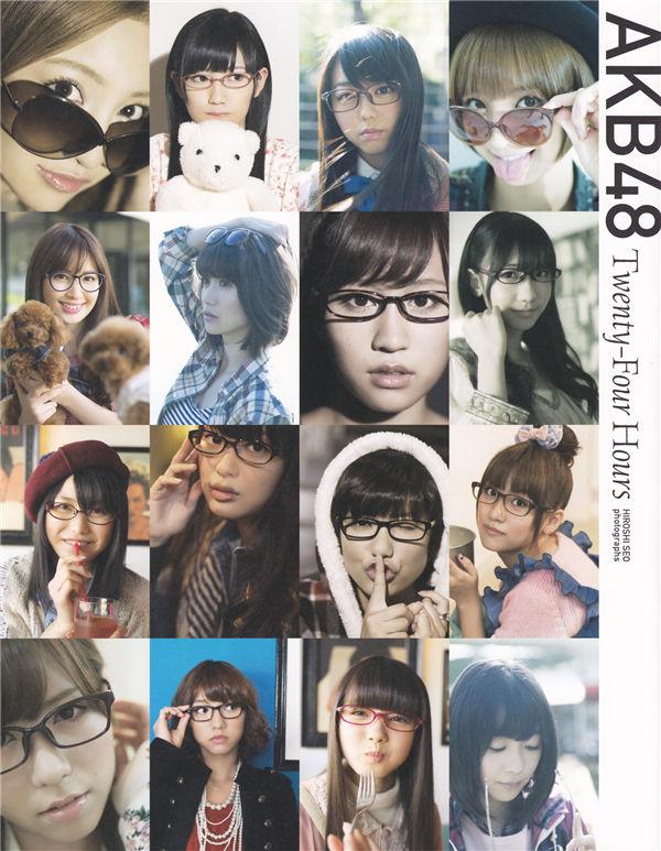 AKB48写真集《Twenty-Four Hours》高清全本[149P] 日系套图-第1张
