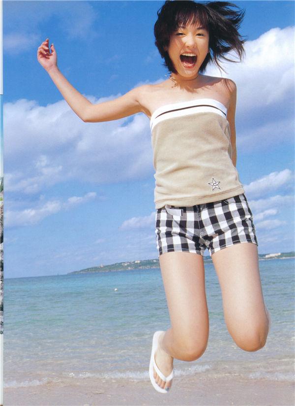 新垣结衣写真集《Nicola 2004年4月号别册 Gacky Book》高清全本[84P] 日系套图-第2张