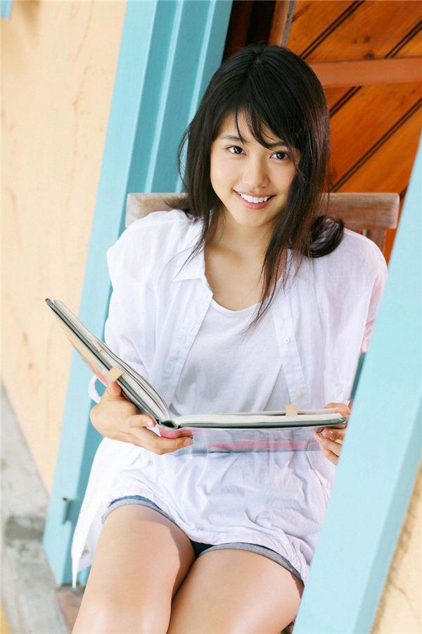 有村架纯写真集《[YS Web] Vol.523 Arimura kasumi 有村架純「夏あそぴ.水あそぴ」》高清全本[60P] 日系套图-第1张