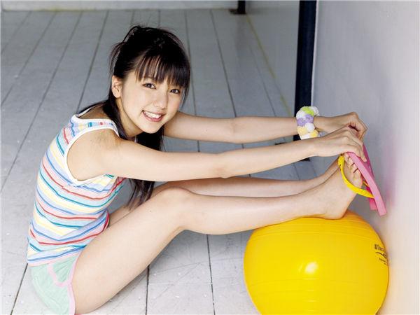 真野惠里菜写真集《[Sabra.net] cover girl ex-SUMMER GREETING》高清全本[40P] 日系套图-第3张