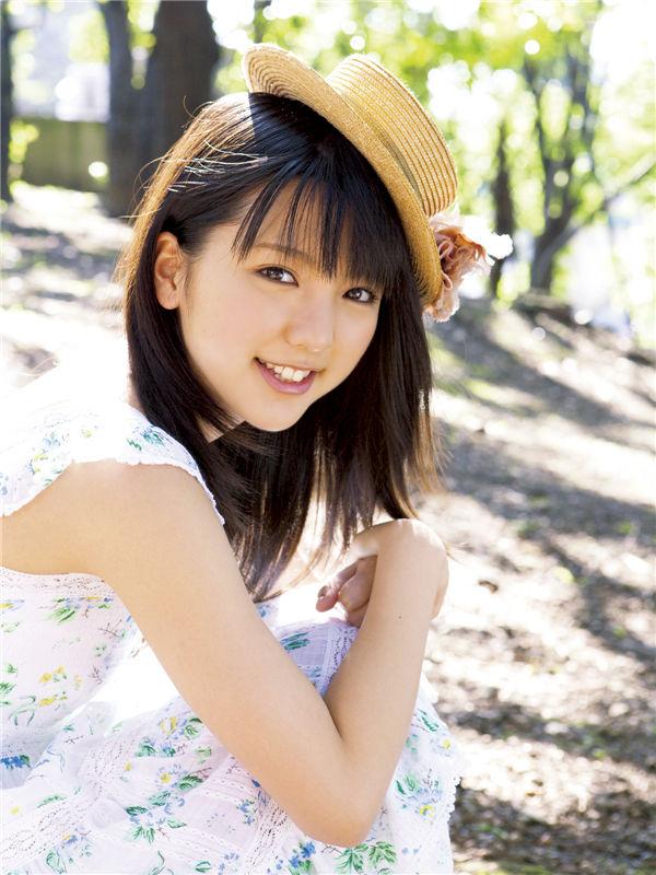 真野惠里菜写真集《[Sabra.net] cover girl ex-SUMMER GREETING》高清全本[40P] 日系套图-第2张
