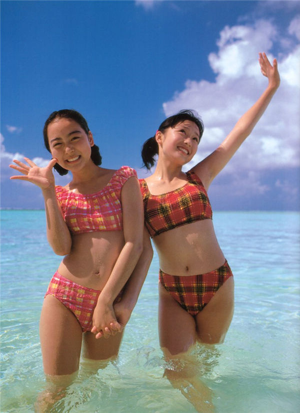 三津谷叶子/奈良沙绪理写真集《Pure Girl「Duo」》高清全本[92] 日系套图-第3张