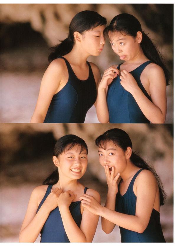 三津谷叶子/奈良沙绪理写真集《Pure Girl「Duo」》高清全本[92] 日系套图-第7张