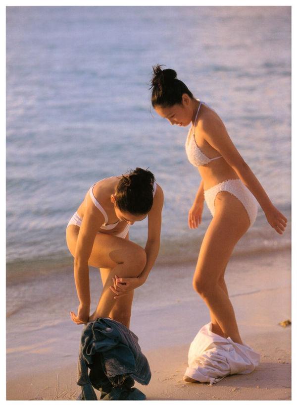 三津谷叶子/奈良沙绪理写真集《Pure Girl「Duo」》高清全本[92] 日系套图-第8张