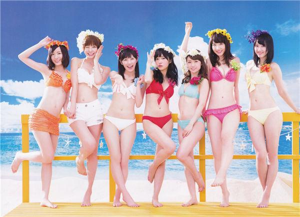 AKB48写真集《AKB48総選挙! 水着サプライズ発表 2013》高清全本[111P] 日系套图-第2张