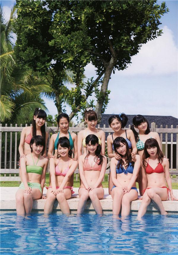 早安少女组写真集《アロハロ! モーニング娘。'14》高清全本[129P] 日系套图-第5张