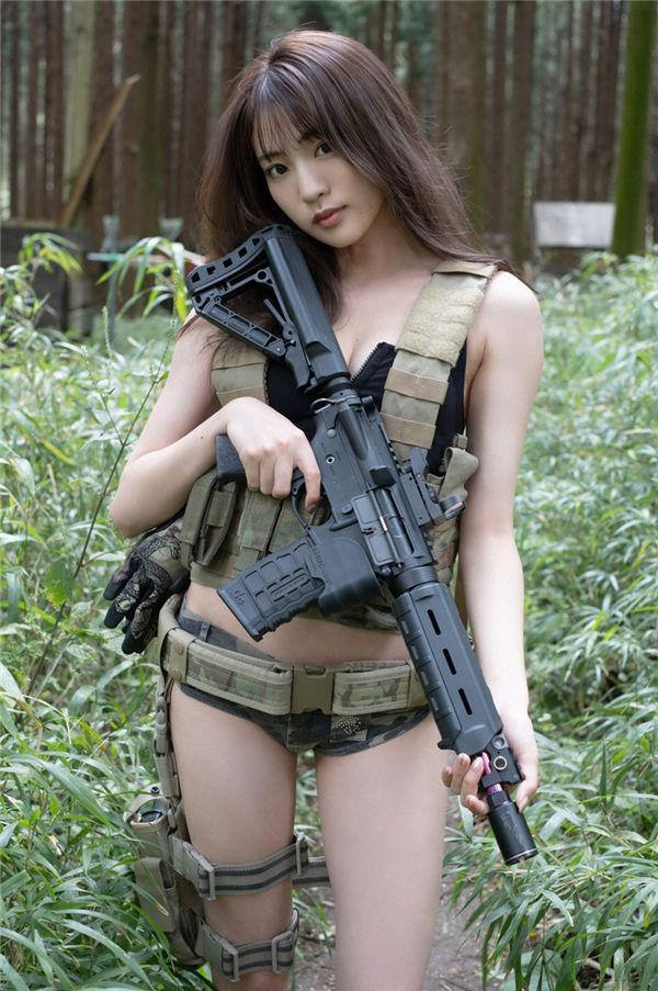 志田友美写真集《[WPB-net] Extra EX956 Yuumi Shida 志田友美 - Too dangerous girl 危険すぎる女》高清全本[60P] 日系套图-第1张