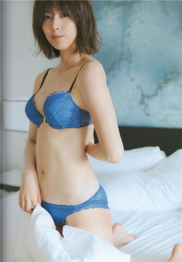 渡边理佐1ST写真集《無口》高清全本[137P] 日系套图-第6张